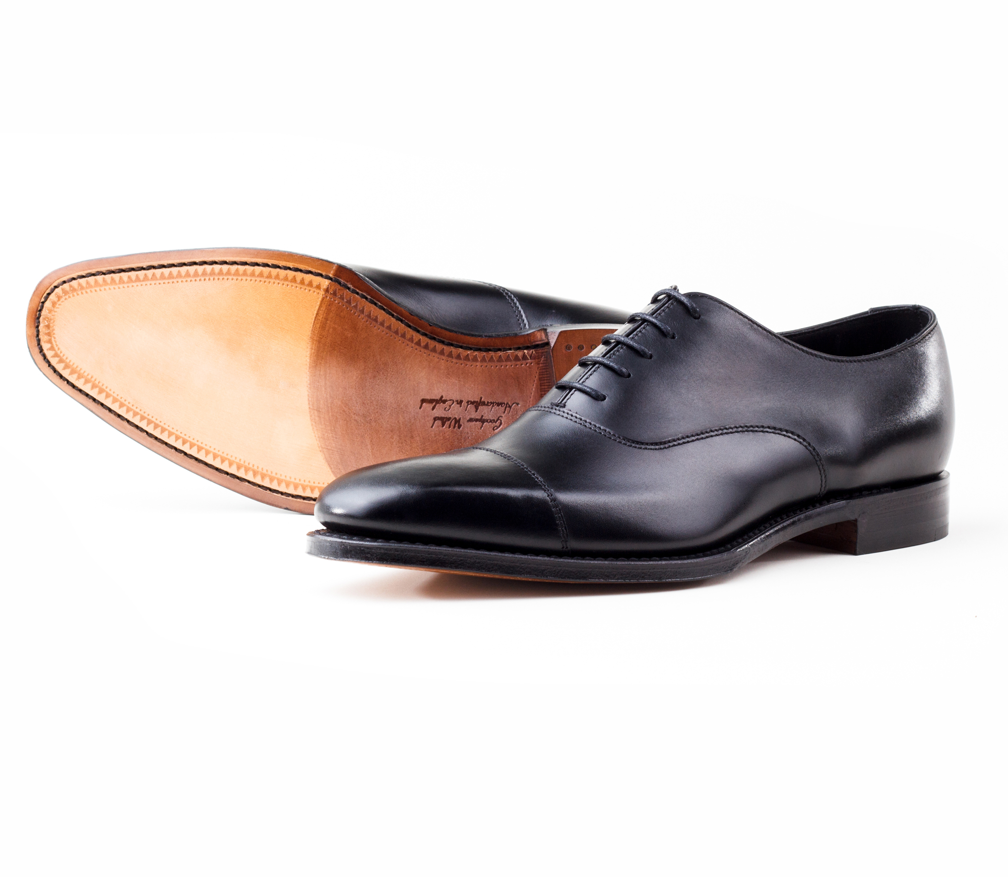 фото Оксфорды Loake, Rothschild Black от магазина MENSHOES