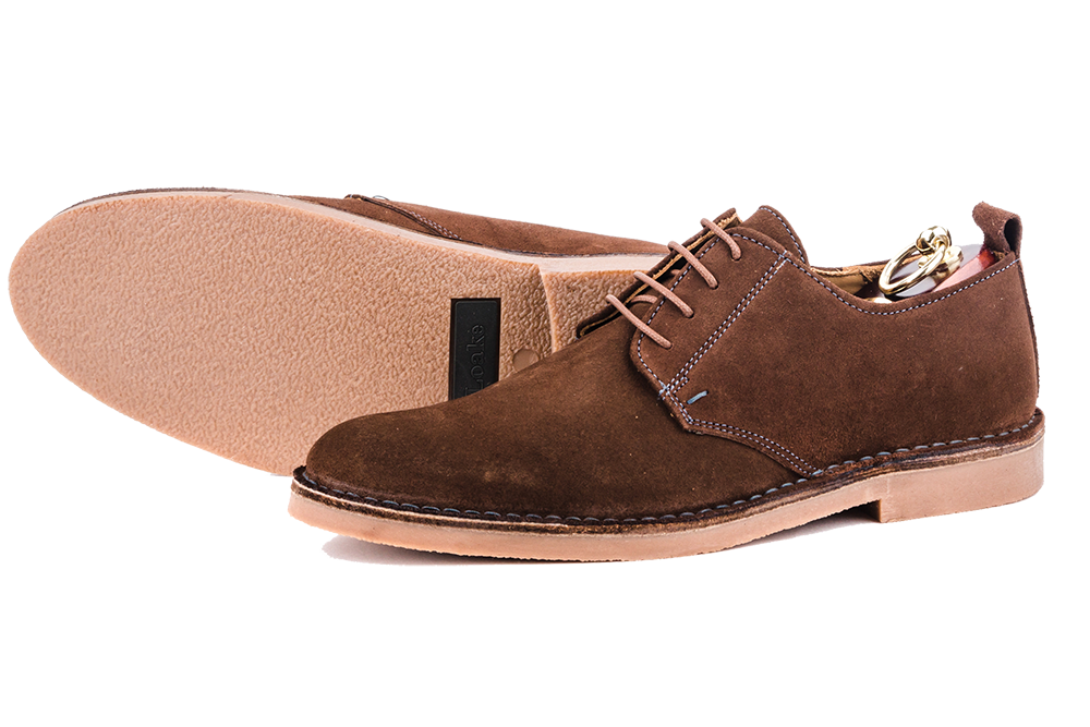 фото Дерби Loake, Mojave brown suede от магазина MENSHOES