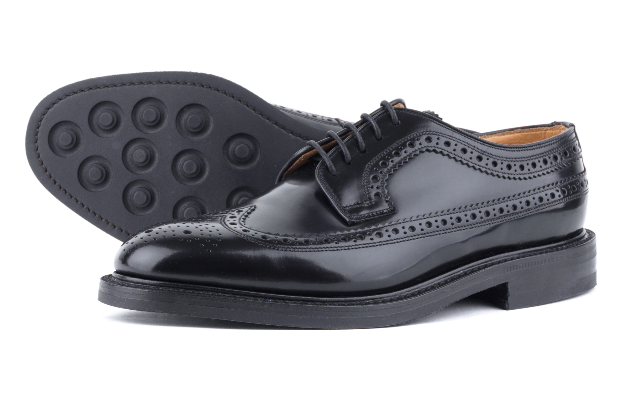 фото Дерби-броги Loake, Sovereign Black от магазина MENSHOES