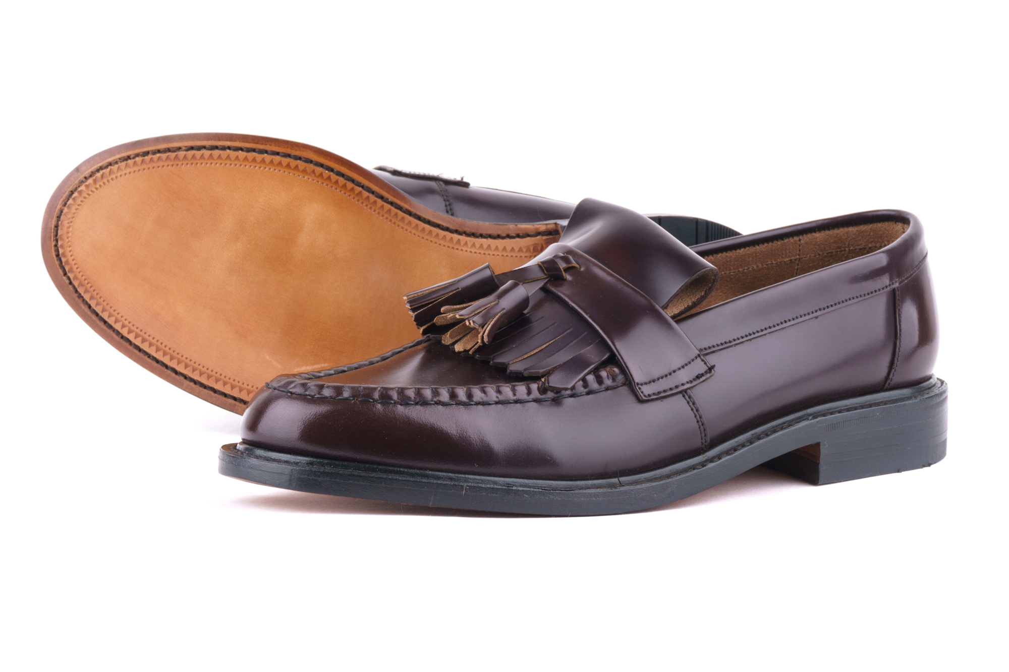 фото Лоферы Loake, Brighton oxblood от магазина MENSHOES